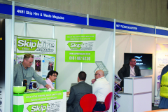 The team at Skip Hire & Waste Magazine found the two-day event a fantastic event as always, with a constant flow of on-the-stand enquiries.