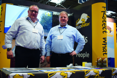 Managing Director Craig Michel and Business Development Manager Dave Clarke of industry leaders Zappshelter