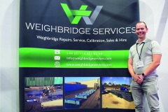 Sheffield-based Weighbridge Services' Manager Liam Buxton spoke positively about RWM 2018, with a view to exhibit next year.