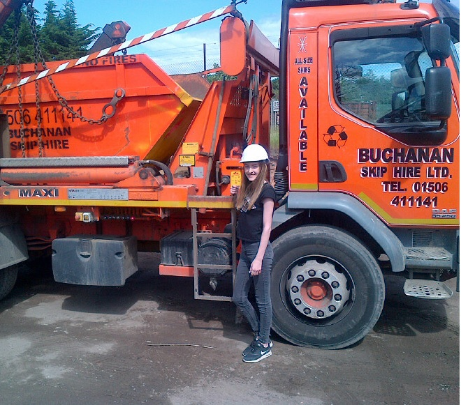 Skip Chick Abbey from Buchanan Skip Hire, Livingston