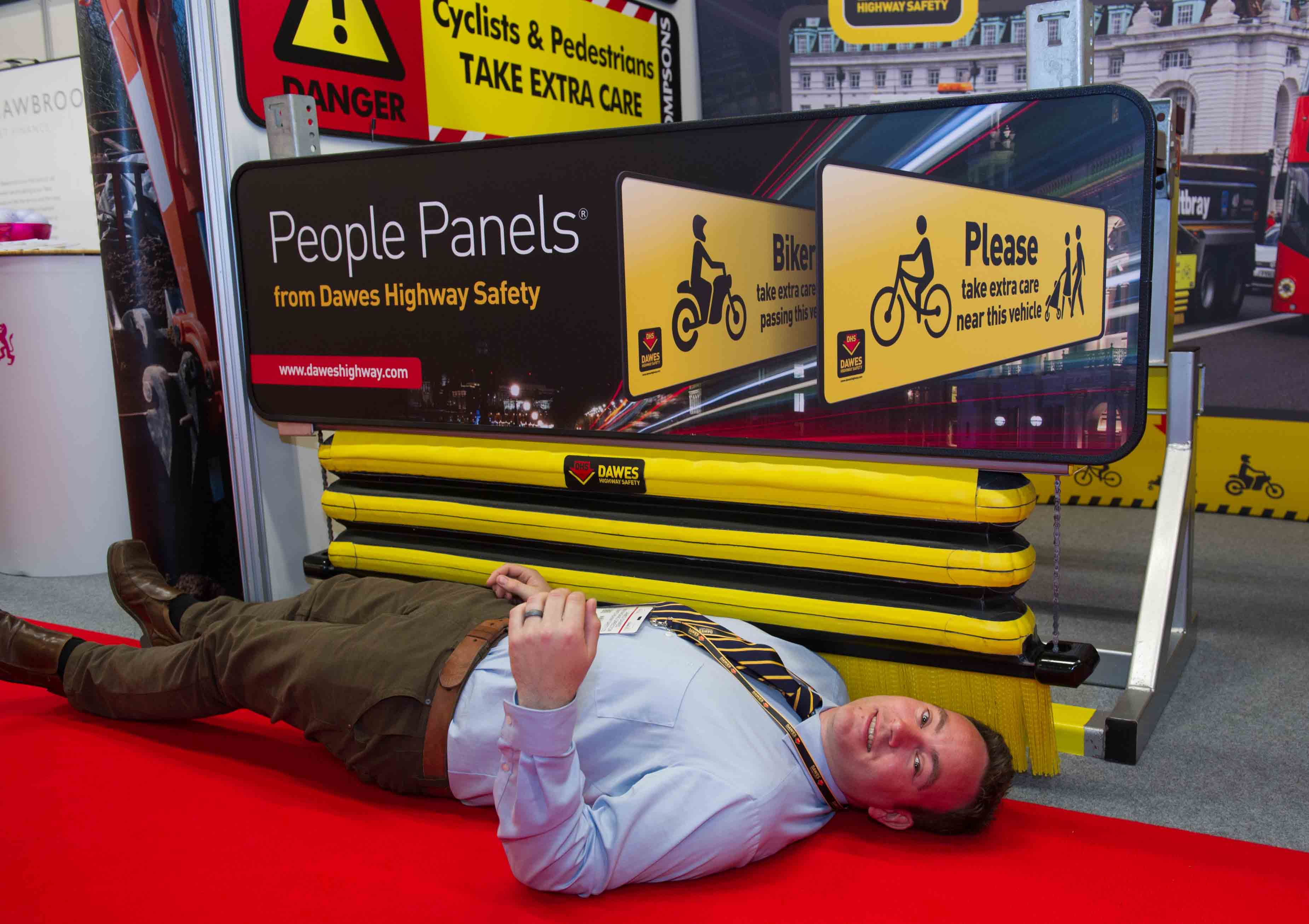 Vehicle safety barrier to help prevent further fatalities