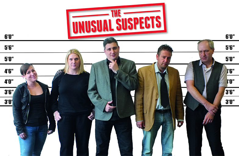 Skip Hire Team Become The Unusual Suspects