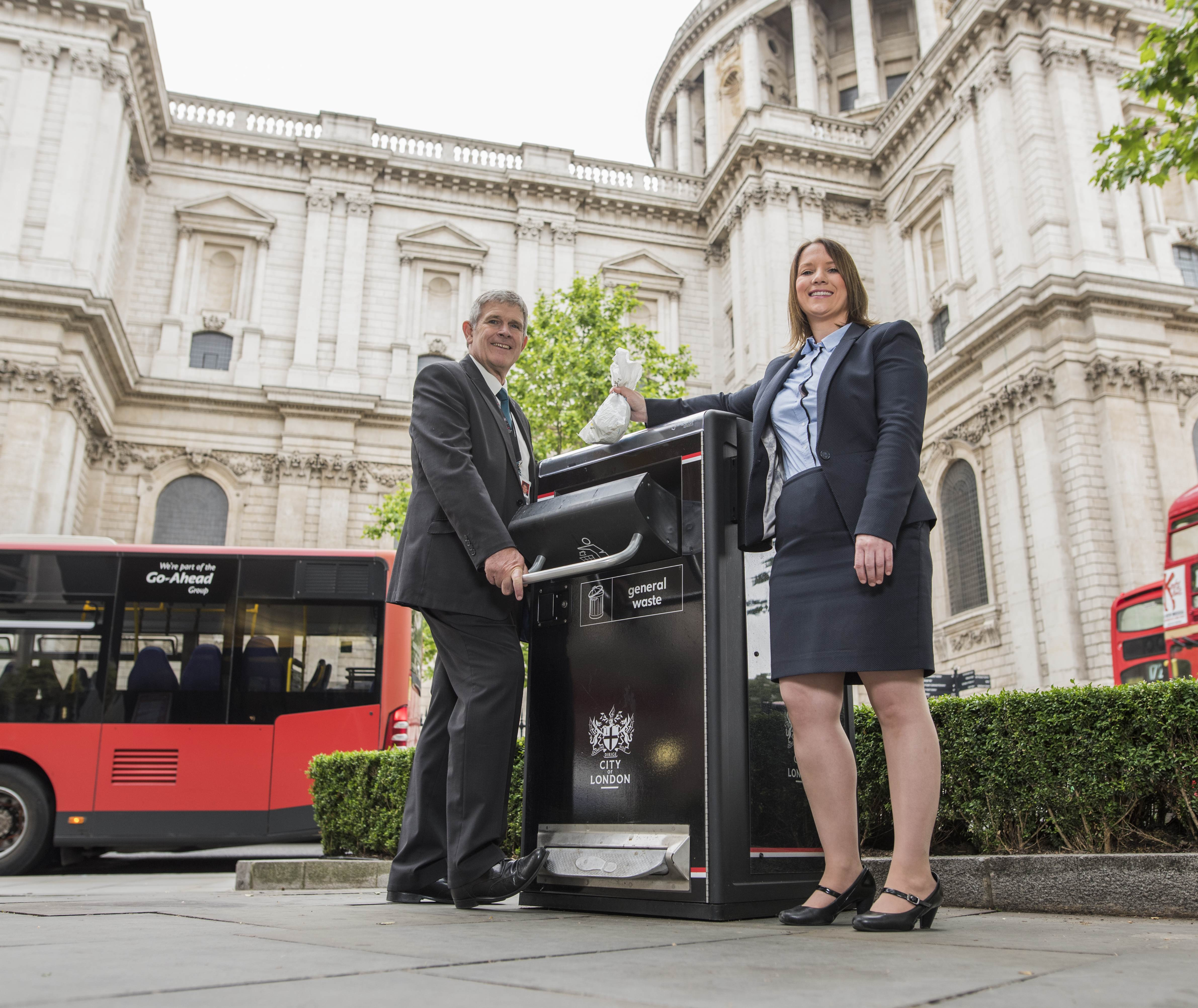 BIGBELLY HELPS CITY OF LONDON CORPORATION PUT PEDAL TO THE METAL