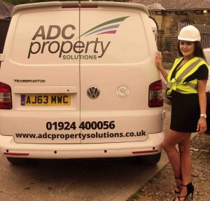 Ellie-outside-with-ADC-Property-Solutions-Van low res
