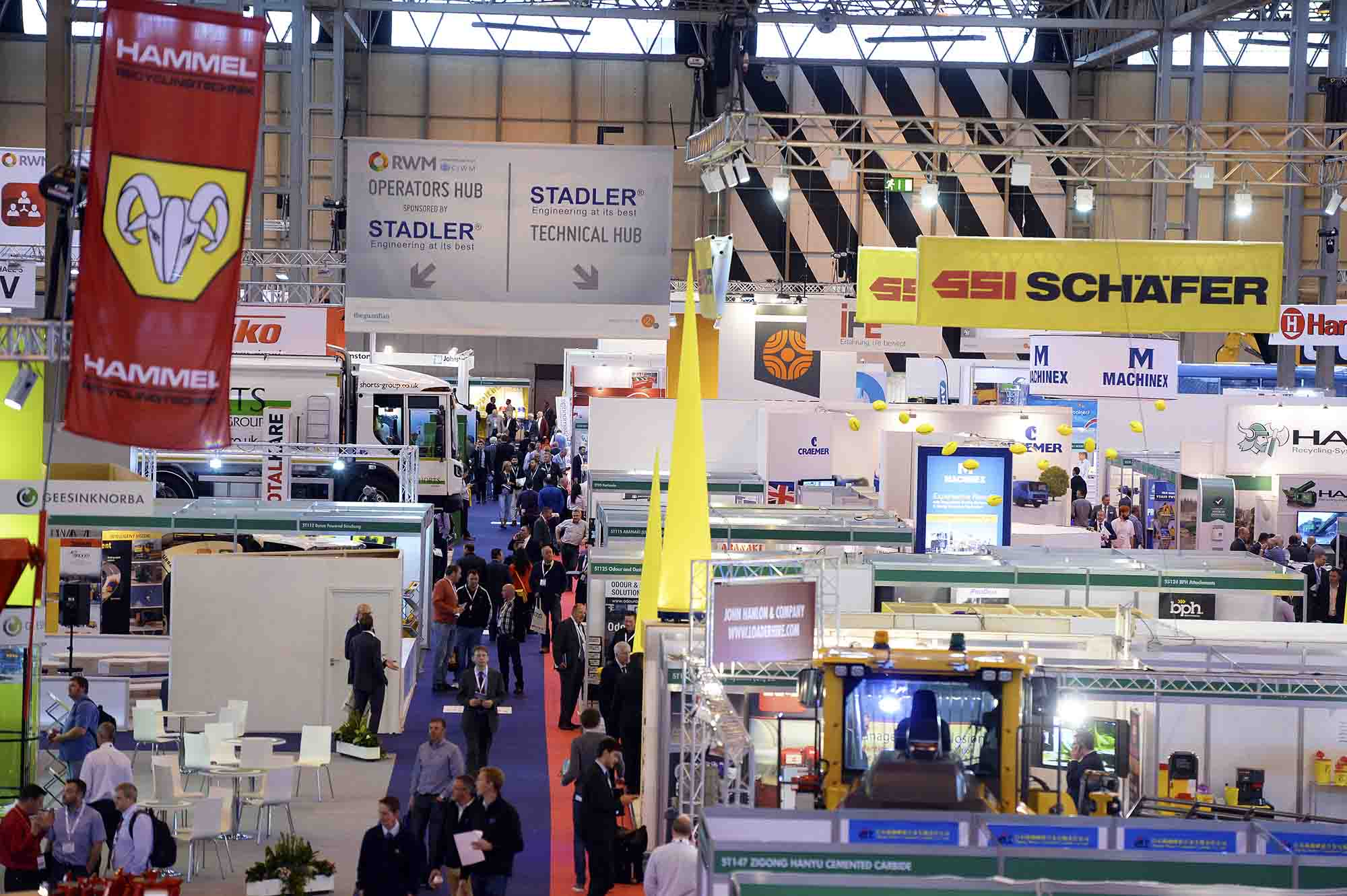 RWM 2016, the Energy Event, the Renewables Event and the Water Event all in one location