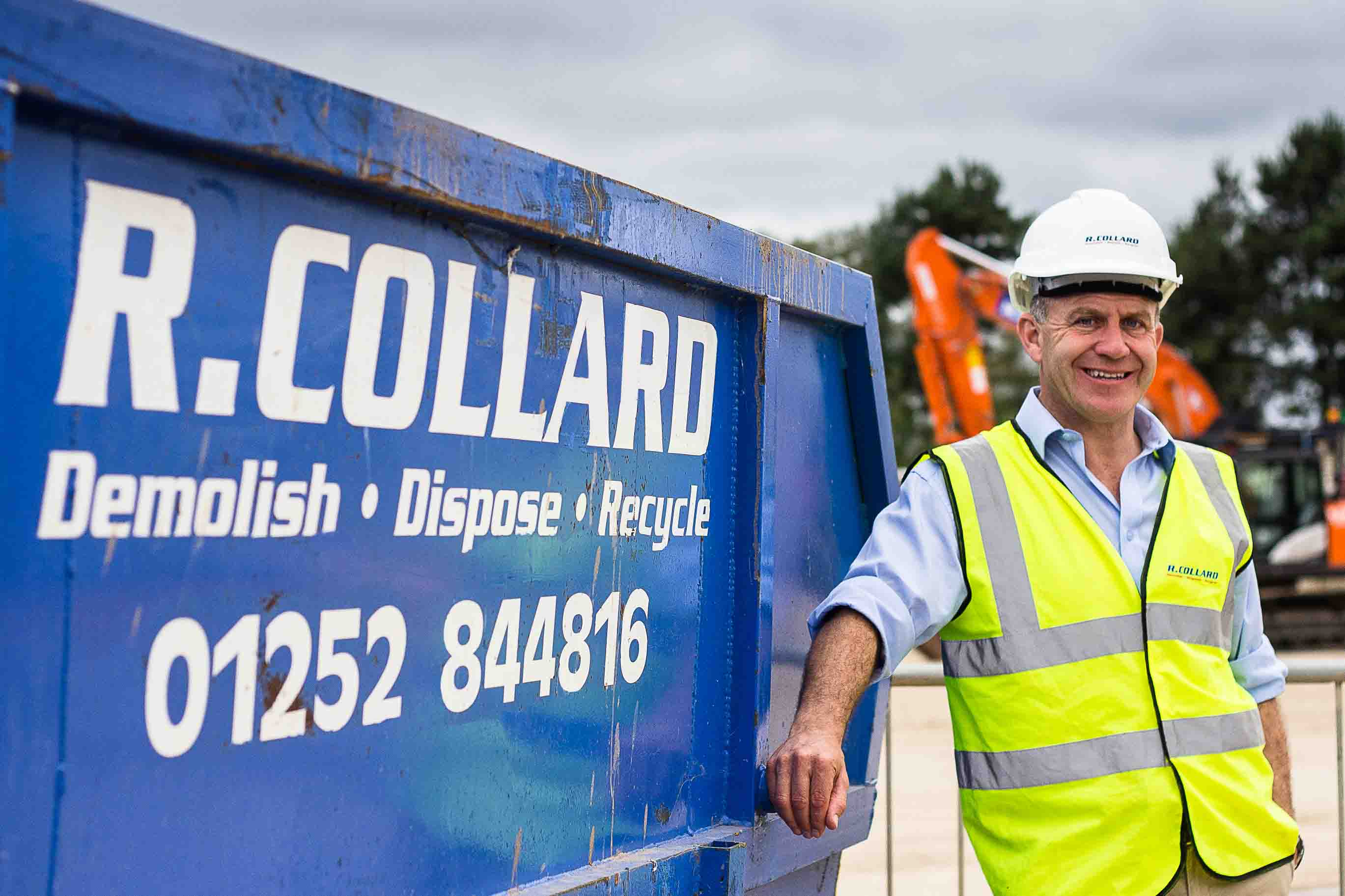A man in a hurry – Rob Collard takes the fast route to success