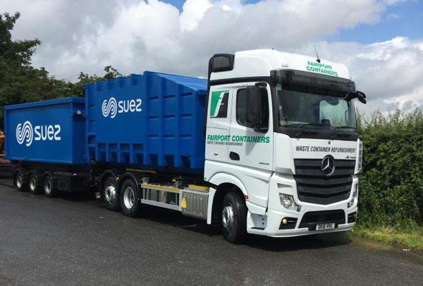 Fairport Containers wins SUEZ rebranding contract