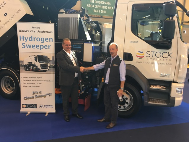Clean sweep for the world's first hydrogen sweeper