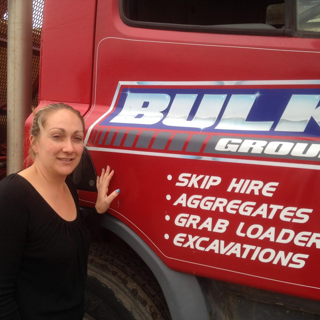 SKIP CHICK (OCTOBER) – Jenny Tyas, Bulk Waste Management, South Yorkshire