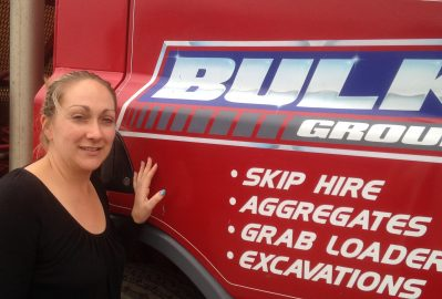 SKIP CHICK (OCTOBER) – Jenny Tyas, Bulk Waste Management, South Yorkshire