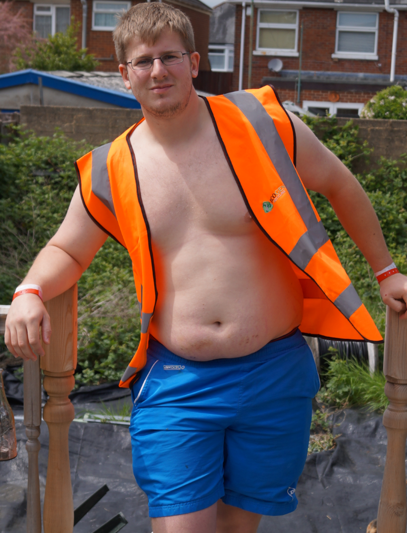 SKIP HUNK (OCTOBER): Thomas Dando from  Ecogen Recycling Ltd, Winchester