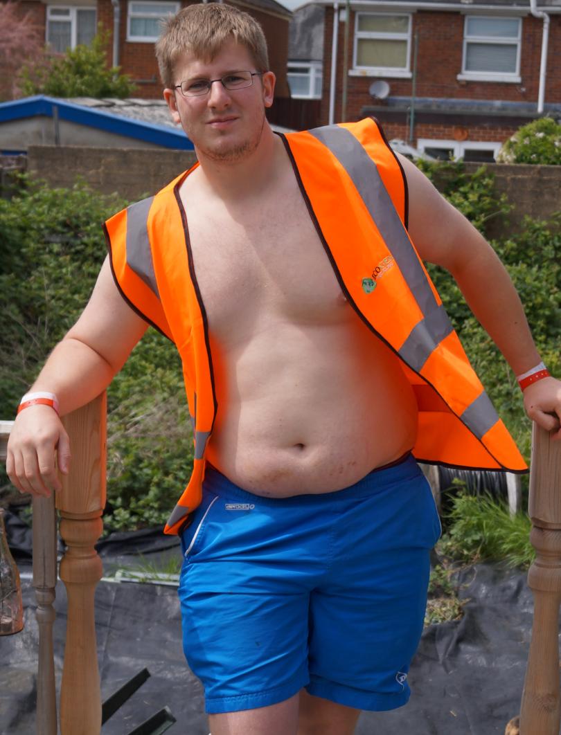SKIP HUNK (OCTOBER): Thomas Dando from  Ecogen Recycling Ltd, Winchester