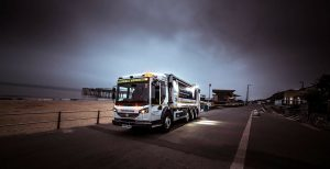 Super-safe and super-size refuse truck improves efficiency in Bournemouth
