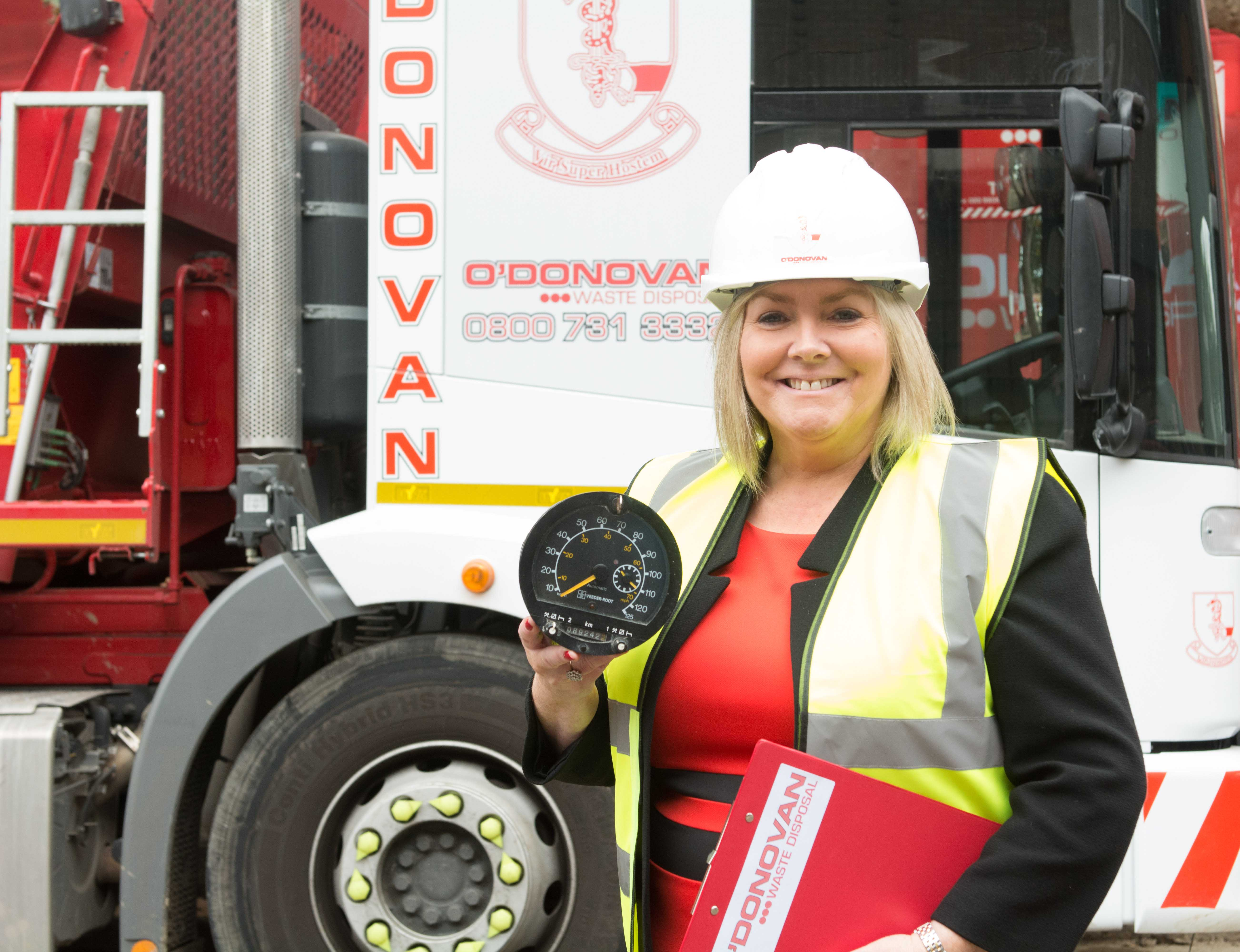 Business boss and TV personality Jacqueline O'Donovan is determined to lead an industry campaign to change the Transport Act 1968