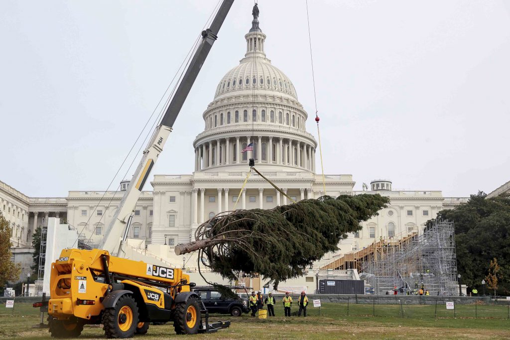 LOADALL GIVES LIFT TO CAPITOL'S CHRISTMAS CELEBRATIONS