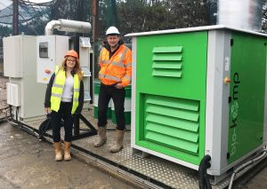 Waste Management Company Supplying the National Grid