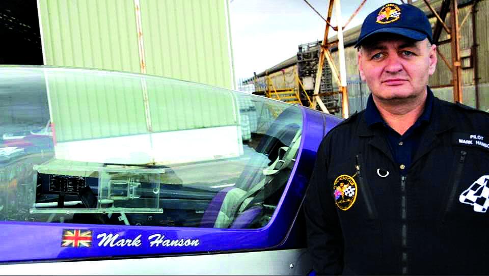 Skip hire boss turned stunt ace Mark is a world record breaker