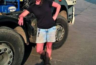 February 2017 Skip Chick Karen Jones, Oakbank Waste Management, Dumfries