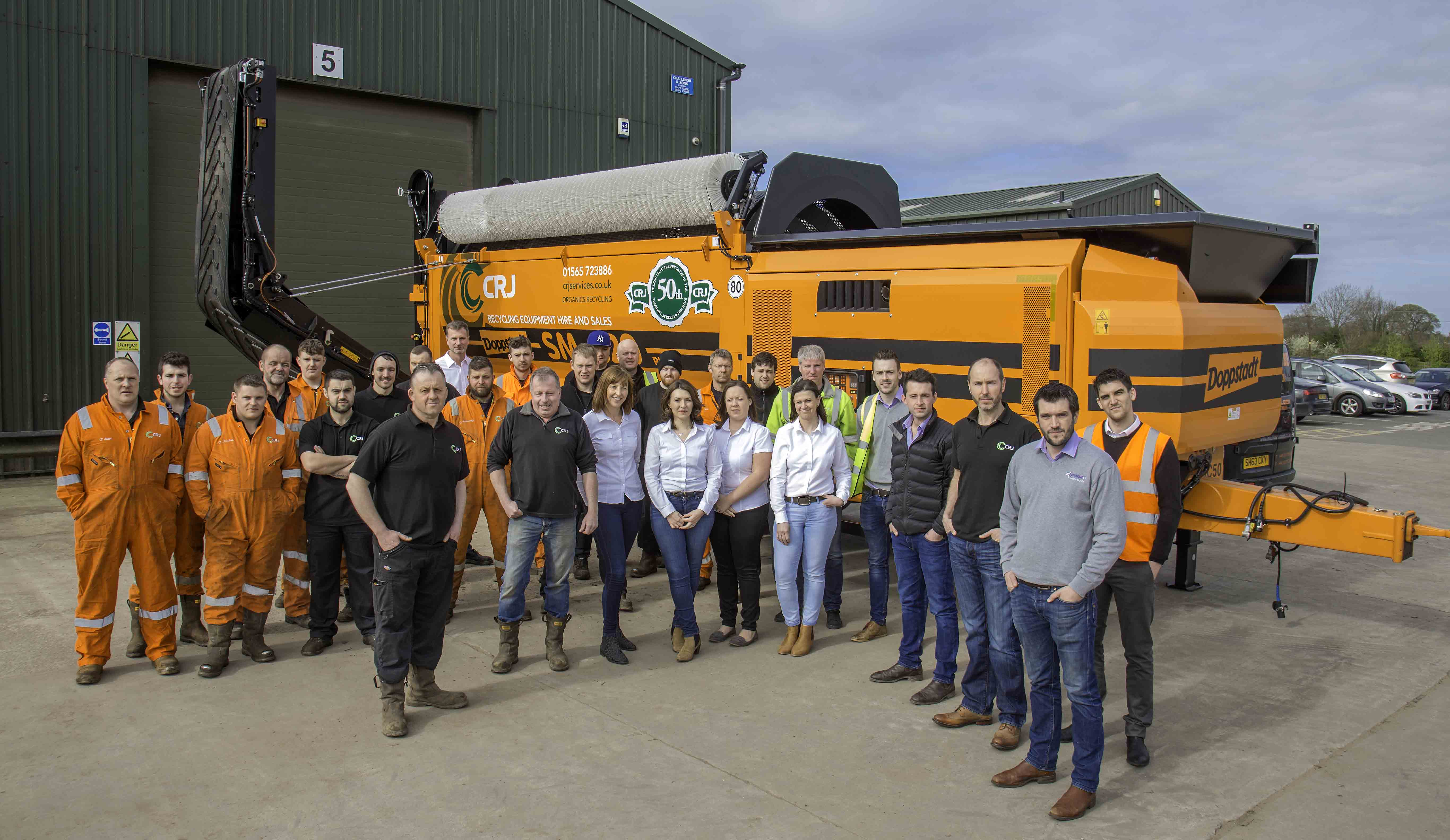 MACHINE MILESTONE FOR HIRE GIANT CRJ SERVICES