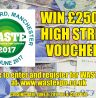 WIN £250 – JUST REGISTER FOR WASTE'17 AND BE THERE ON JUNE 8