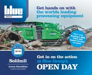Blue Group to hold Open Day at Armac Demolition in Solihull
