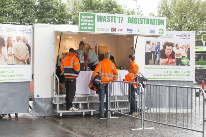 Old Trafford was a dream venue for a recycling event
