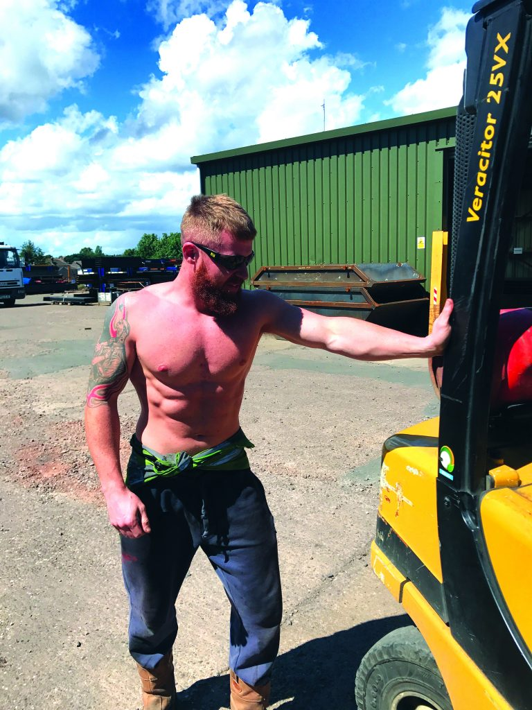 SKIP HUNK SEPTEMBER 2017 – Paddy Tonkinson, GJF Fabrications Ltd