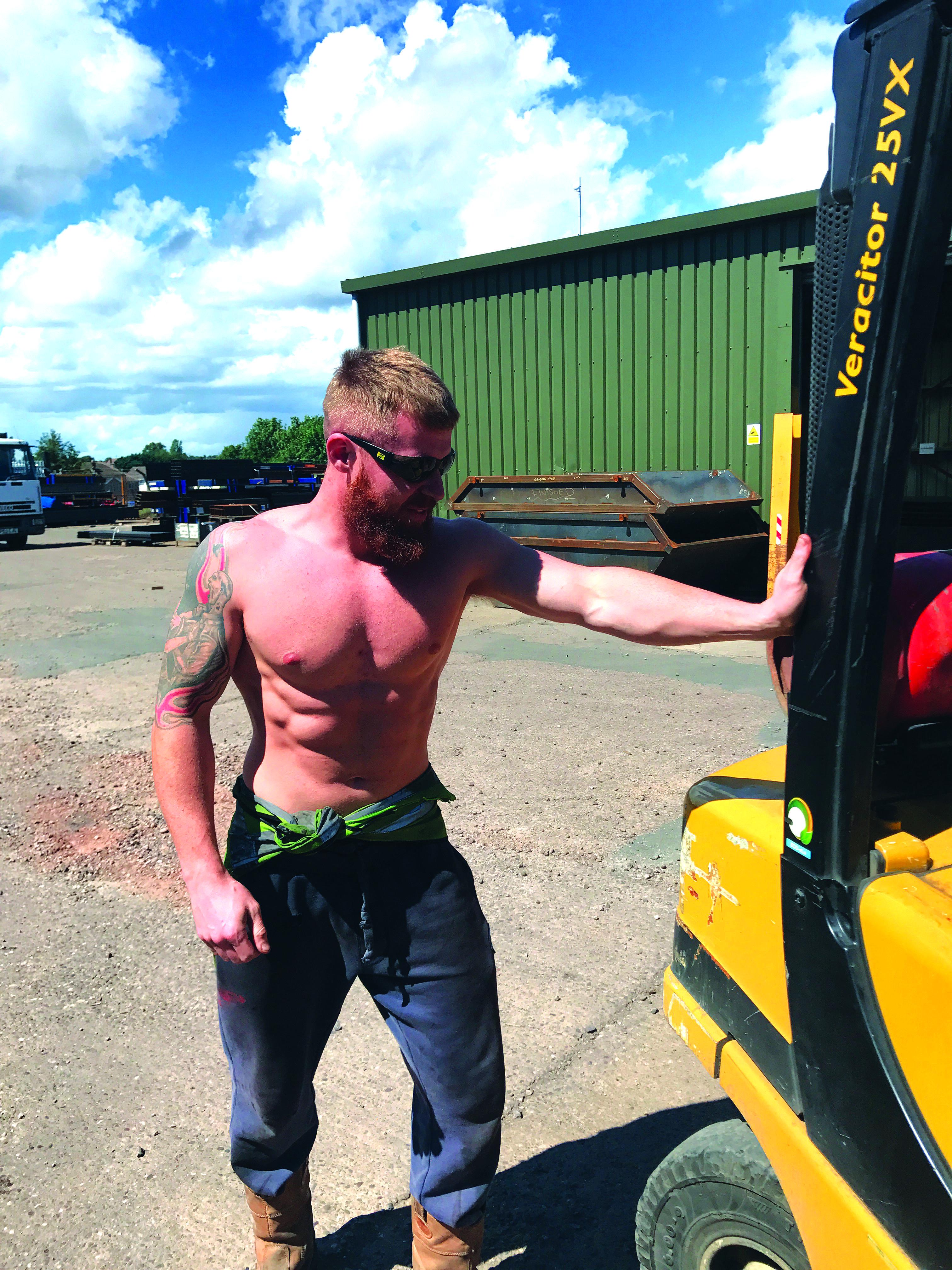 SKIP HUNK SEPTEMBER 2017 – Paddy Tonkinson, GJF Fabrications Ltd