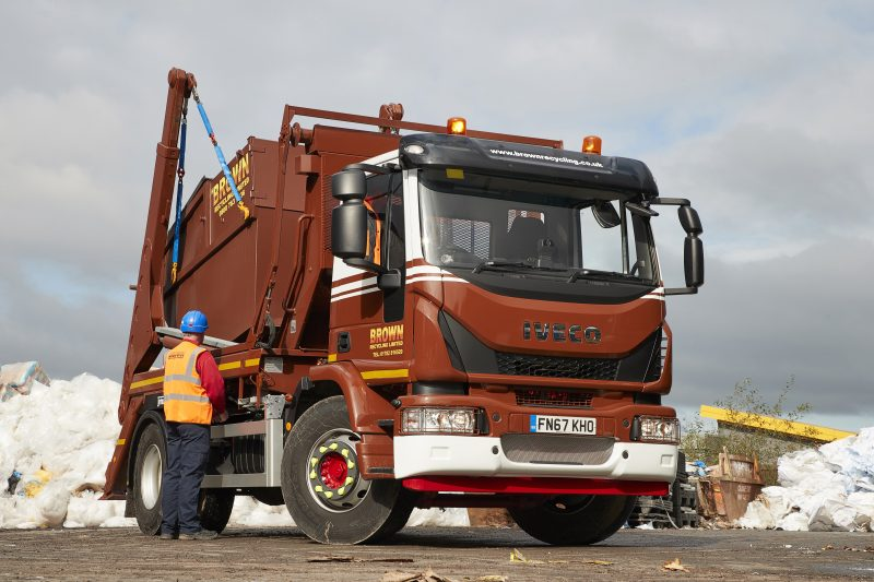 Waste management company becomes one of the first fleets to benefit from IVECO's new ready-bodied skip loader range