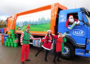 Does Santa Claus recycling? By Fresh Start Waste, Manchester