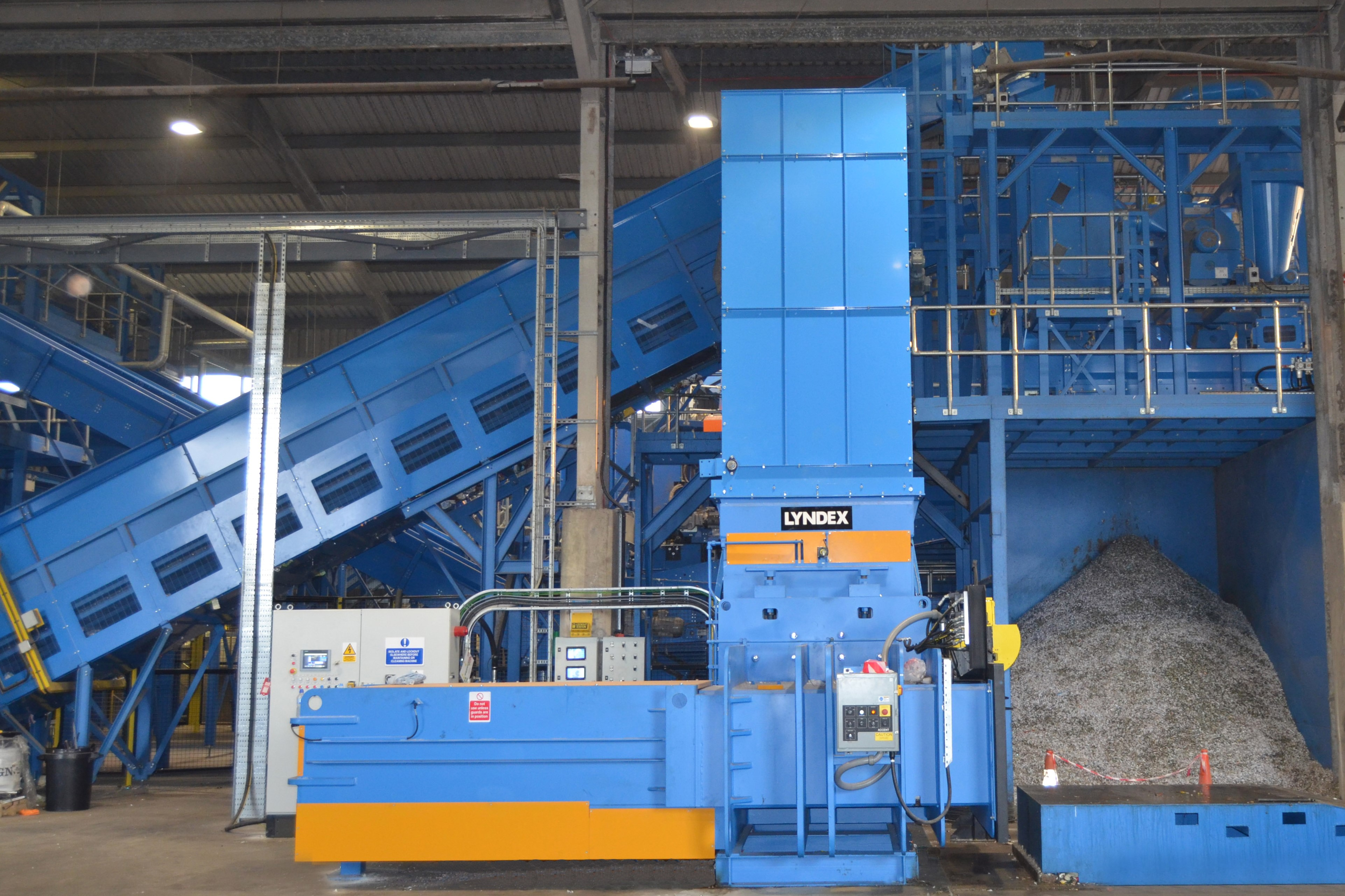 Lyndex Recycling set to raid Munich's IFAT 2018 with Ram II balers