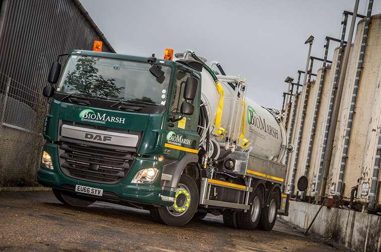 Biomarsh Environmental turn to Vacu-Lug to aid compliance throughout their UK fleet