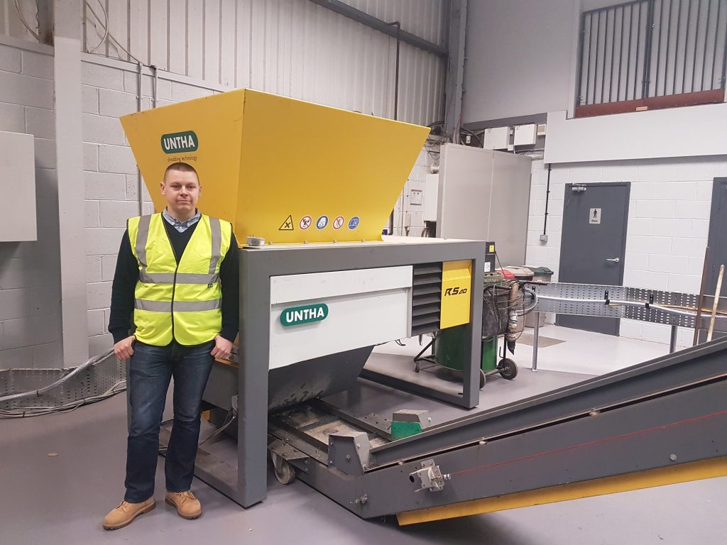 New service manager appointed at industrial shredding specialist