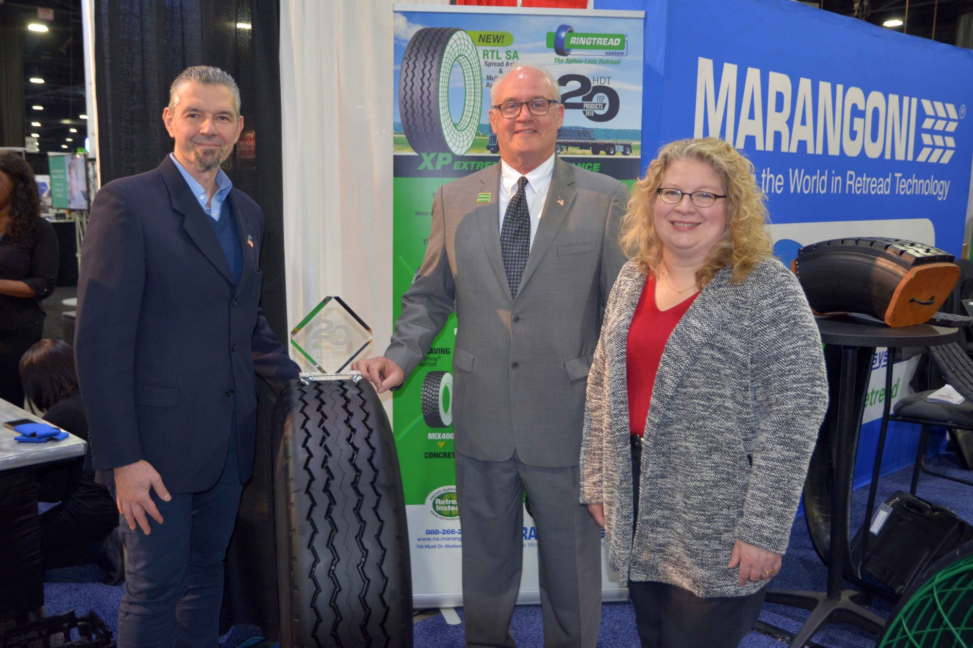 Marangoni receives award for their extreme performance Ringtread RTL SA
