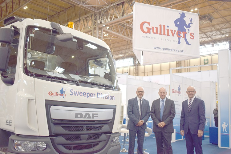 WASTE'18 exhibition regulars Gulliver's Truck Hire Ltd set for biggest show yet