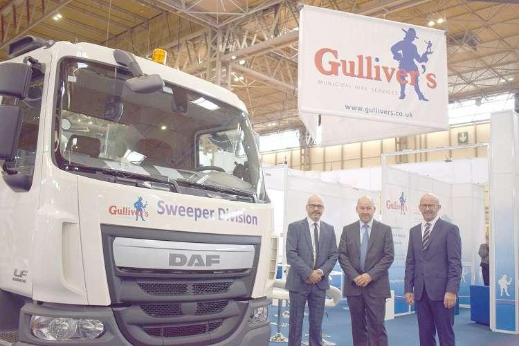 WASTE'18 exhibition regulars Gulliver's Truck Hire Ltd set for biggest show yet