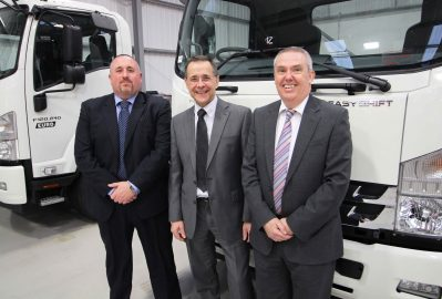 Continuity the key at Isuzu Truck UK