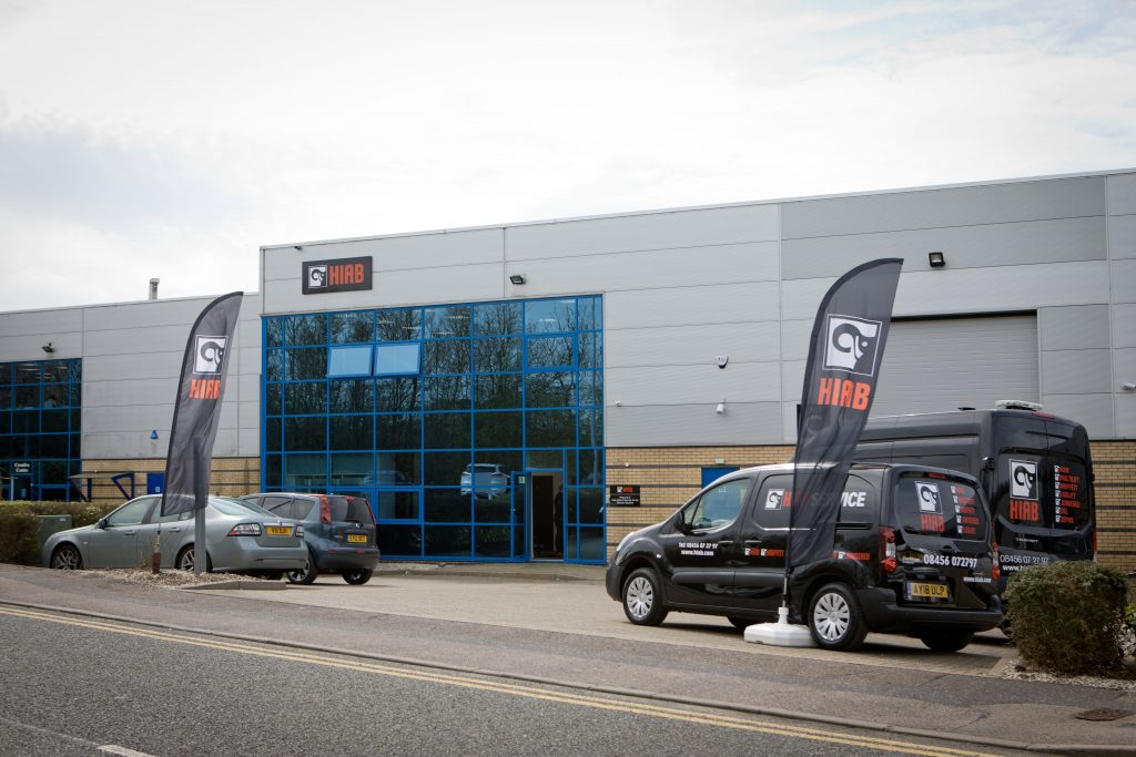 The new London sales and service depot at Bishop's Stortford