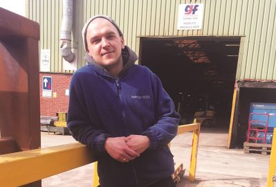 May's Skip Hunk: Oskar Olszyczka of GJF Fabrications Ltd