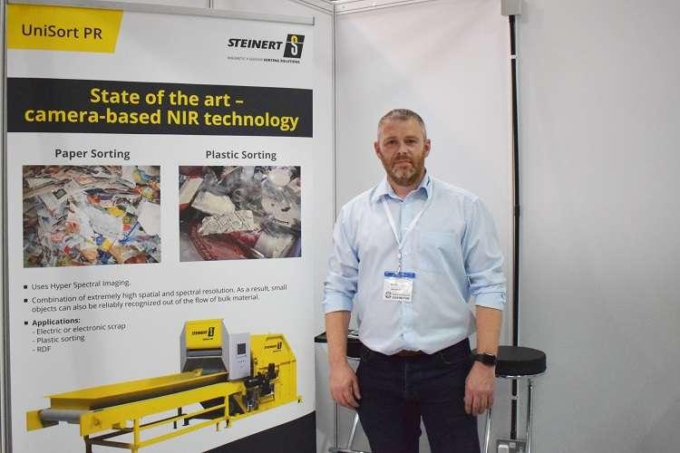 Gareth Bray of Magnetic Separations, UK supplier for STEINERT GmbH