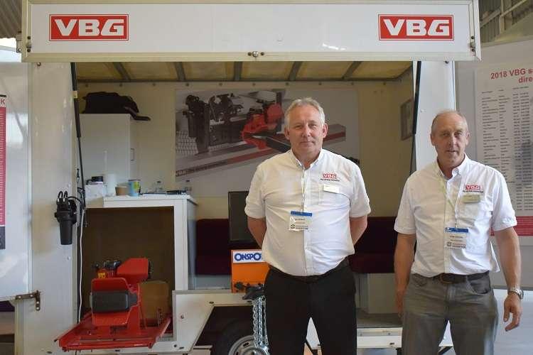 VBG Group Sales Ltd's Ian Herbert (left) and Howard Ostle