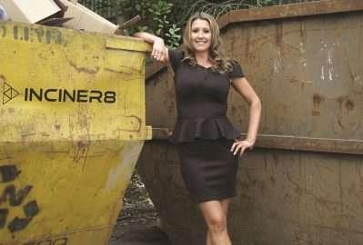 June's Skip Chick: Louise Byrne of Inciner8 Ltd