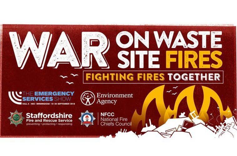 Join the War on Waste Site Fires conference on September 19