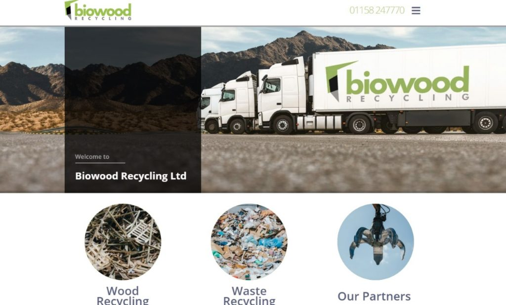 BIOWOOD LAUNCH NEW WEBSITE