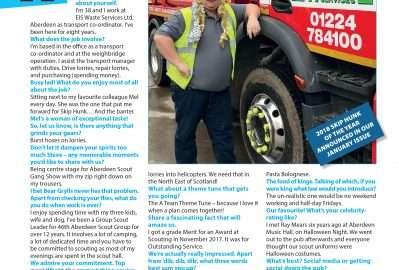 December's Skip Hunk: Steve Pirie of EIS Waste Services