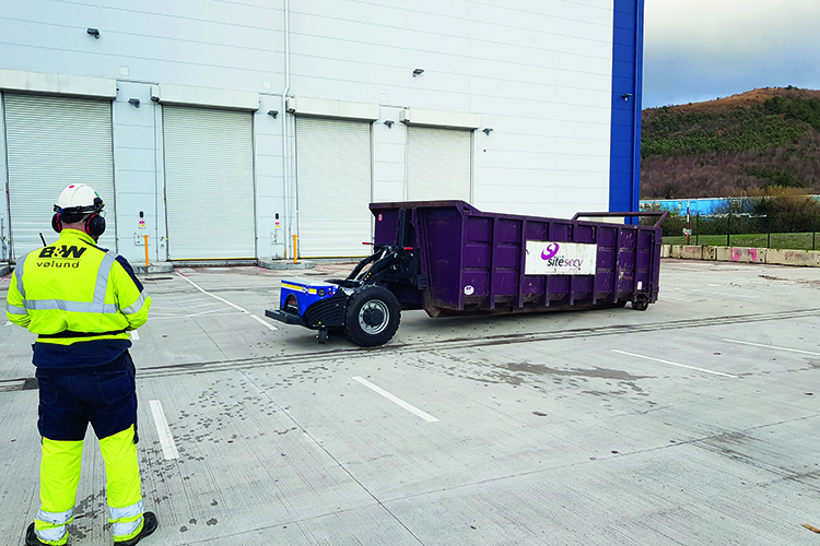 GAPO innovation: moving skips and saving costs across the UK