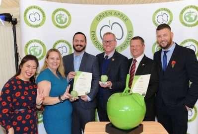 Enva and Woodhead Group's partnership bears fruit at The International Green Apple Awards