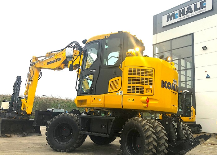 McHale Plant Sales take on new Komatsu product to get in tight spaces
