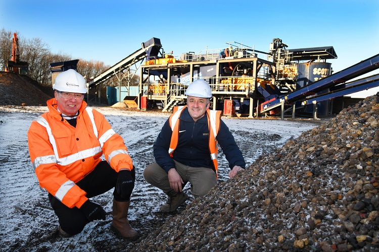 Scott Bros. invests £1m in wash plant with sustainability in mind