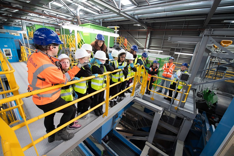 Visitor experience launched at SUEZ's Aberdeen waste recycling facilities